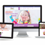 desarrollo web valencia de la web corporativa Escuela Infantil Micos