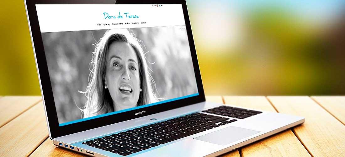 Diseño web Dora de Teresa