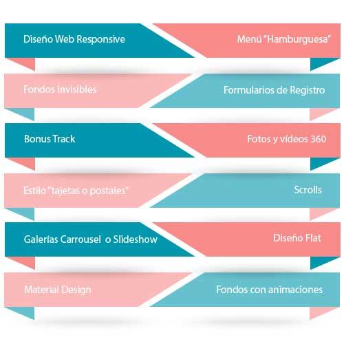 tendencias en desarrollo web Valencia y tendencias en diseño web 2017, diseño web responsive