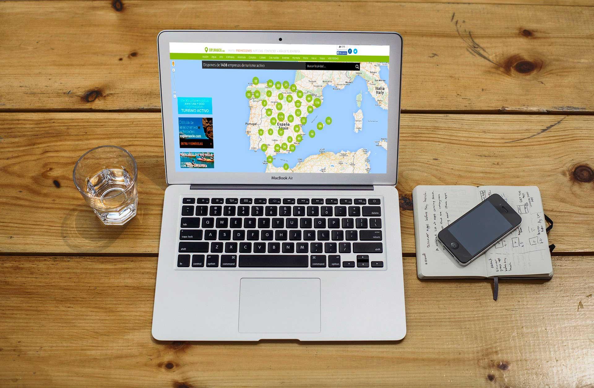 Desarrollo web&&en_ciudad&& Exploraocio
