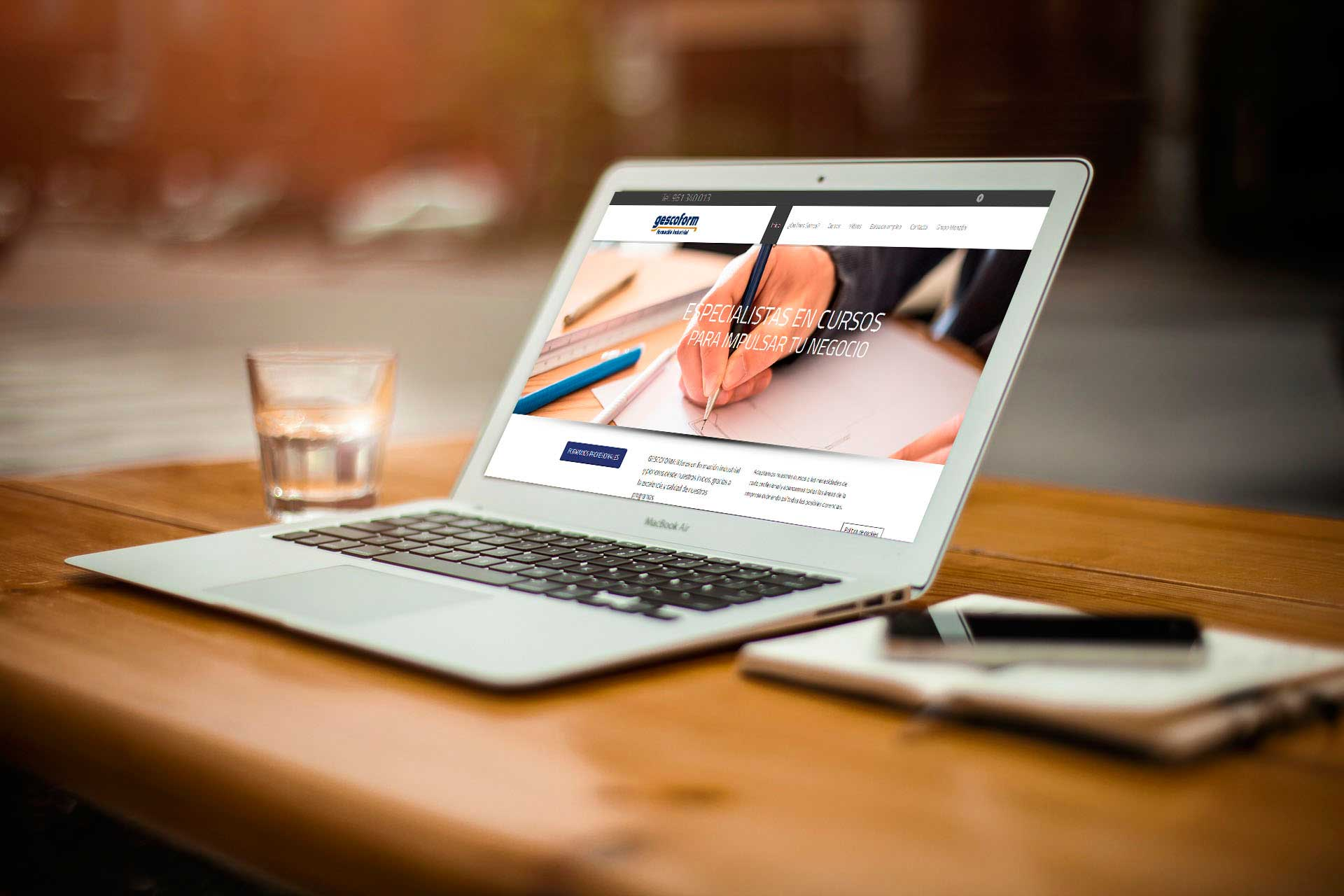 Gescoform. Diseño web corporativo&&ciudad&&. Diseño web wordpress&&ciudad&&.