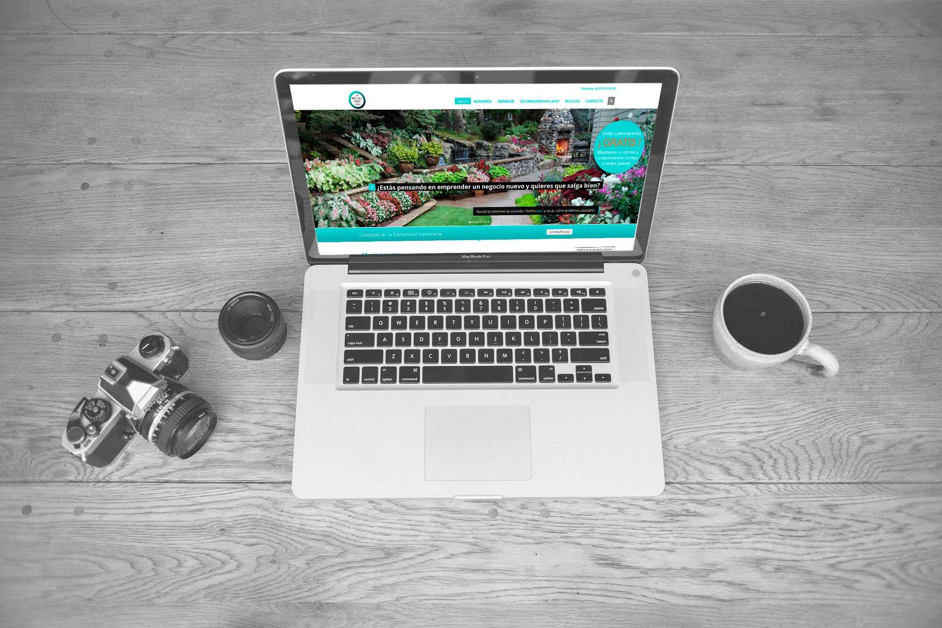 La Brújula Feng Shui: Diseño web corporativo. Diseño web Wordpress&&ciudad&&.