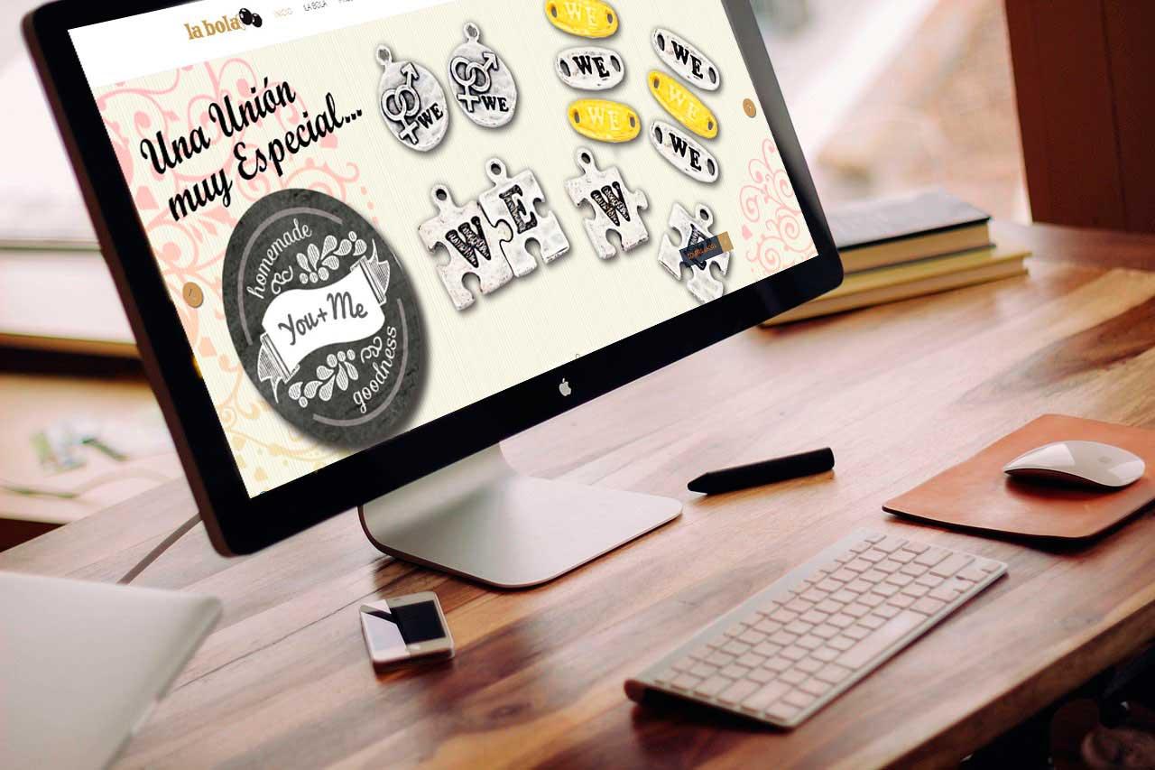 La Bola: Diseño tienda online Prestashop.