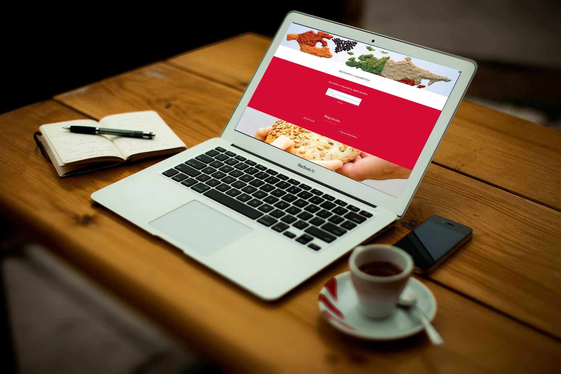 Desarrollo web&&en_ciudad&& red solidaria de alimentos