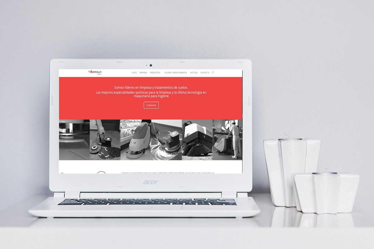 Kofmman: Diseño Wireframing responsive. Diseño web wordpress&&ciudad&&.