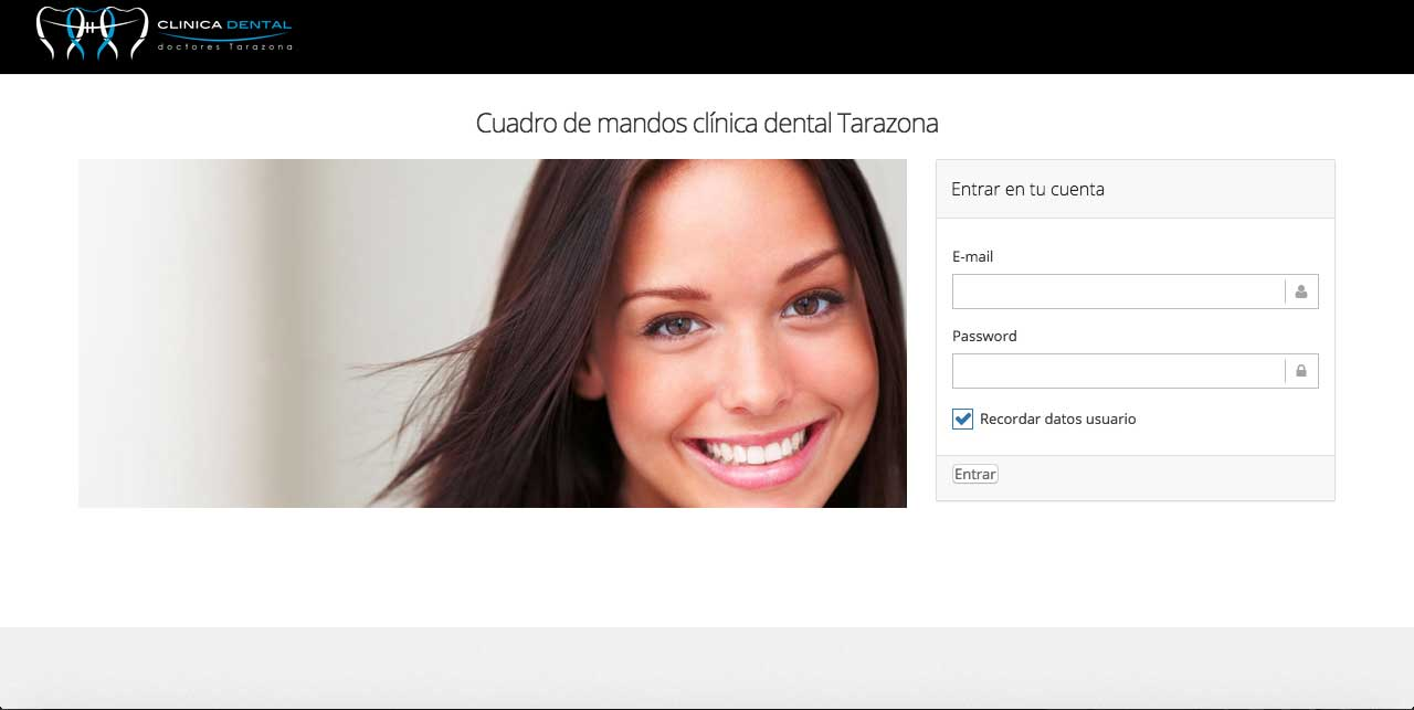 Desarrollo de cuadro de mandos clínica dental: Desarrollo web&&ciudad&& y Marketing Digital&&ciudad&.