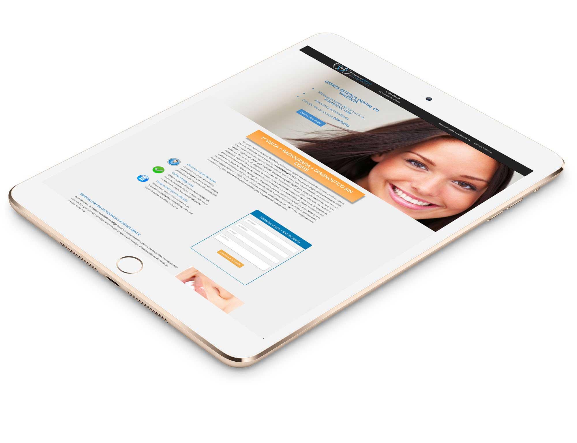 Clínica Dental: Desarrollo web&&ciudad&& y Marketing Digital.&&ciudad&.