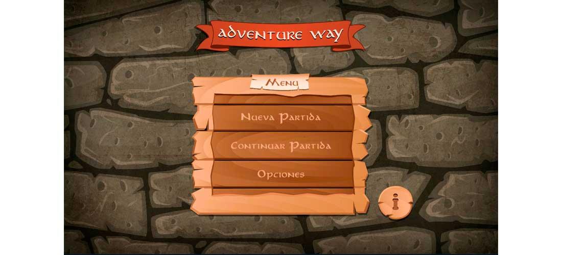 App Adventure Way: Desarrollo de Videojuego&&ciudad&&