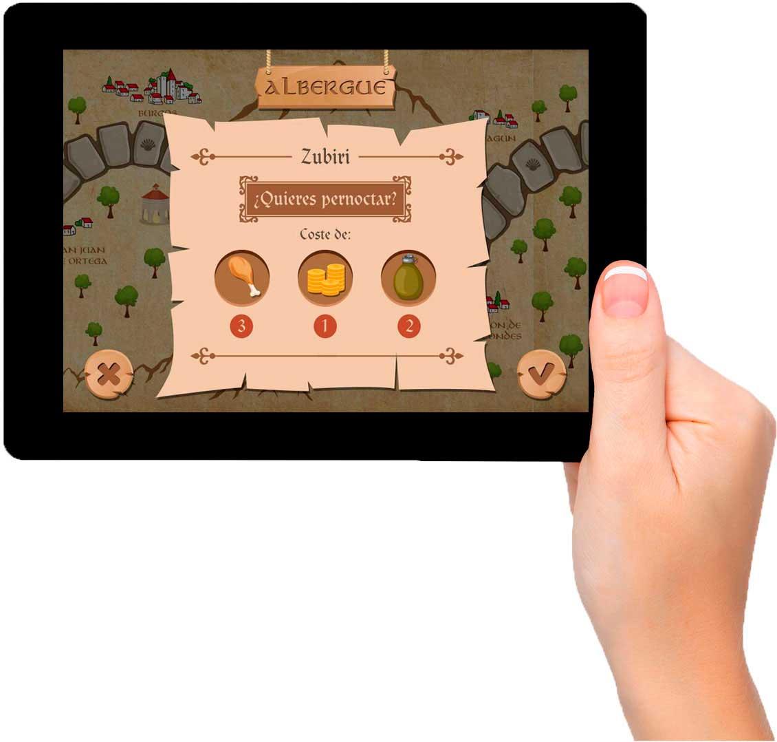 App Adventure Way: desarrollo de videojuego