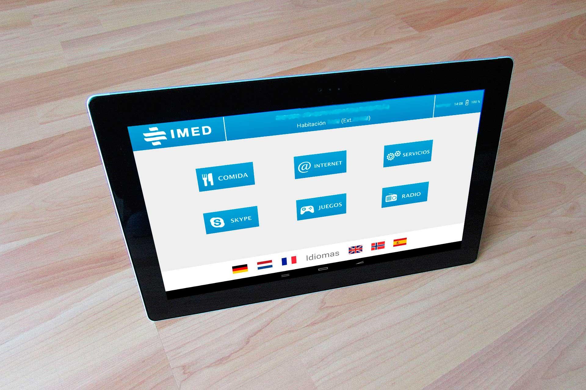 Diseño aplicaciones móviles: IMED