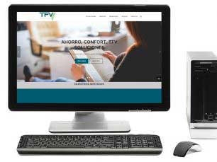 Desarrollo web Wordpress: TFV Clima