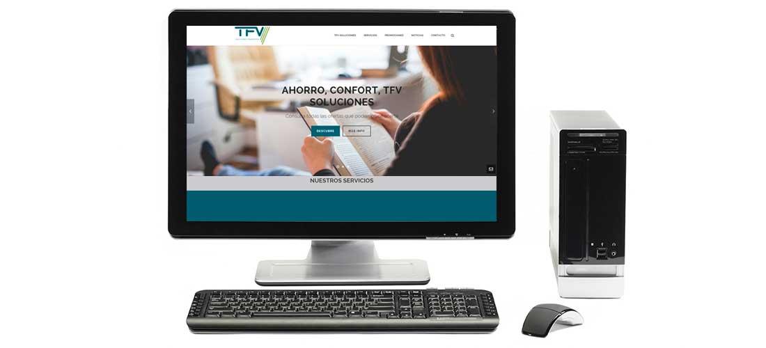 Desarrollo web Wordpress&&ciudad&&: TFV Clima