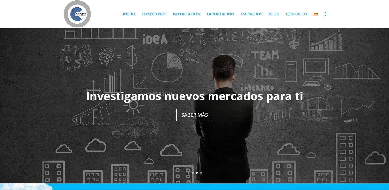 Desarrollo web corporativa&&ciudad&&: Cecogrup