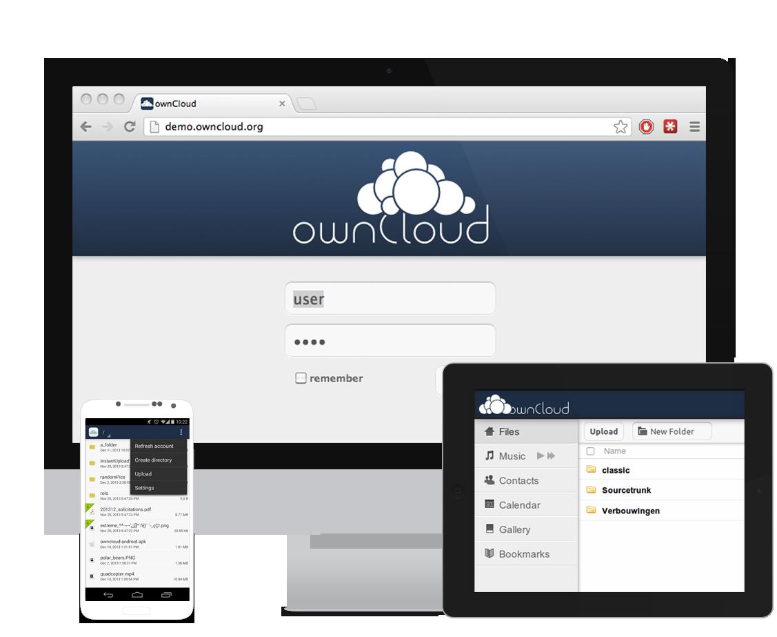 Desarrollo servicios en la nube: ownCloud