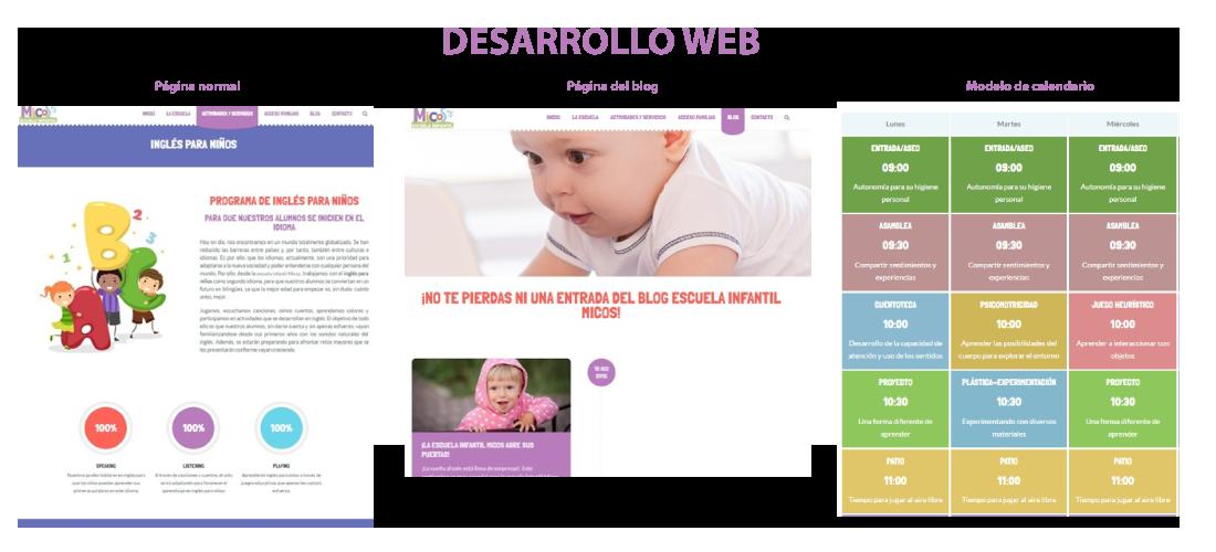 Escuela Infantil Micos: Desarrollo web corporativa&&en_ciudad&&, posicionamiento SEO&&en_ciudad&&, campañas SEM&&en_ciudad&&, Google Adwords&&en_ciudad&& y diseño identidad corporativa.