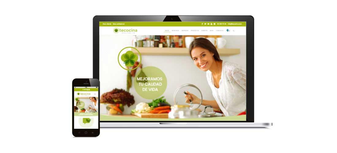 Te cocina: Diseño y desarrollo web Wordpress