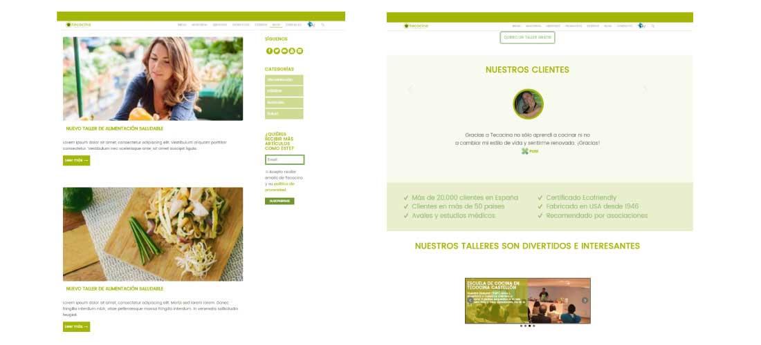 Te cocina: Diseño y desarrollo web Wordpress&&ciudad&&