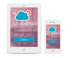 Desarrollo de aplicaciones Nubelist app
