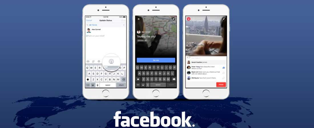 Marketing redes sociales para Facebook Live