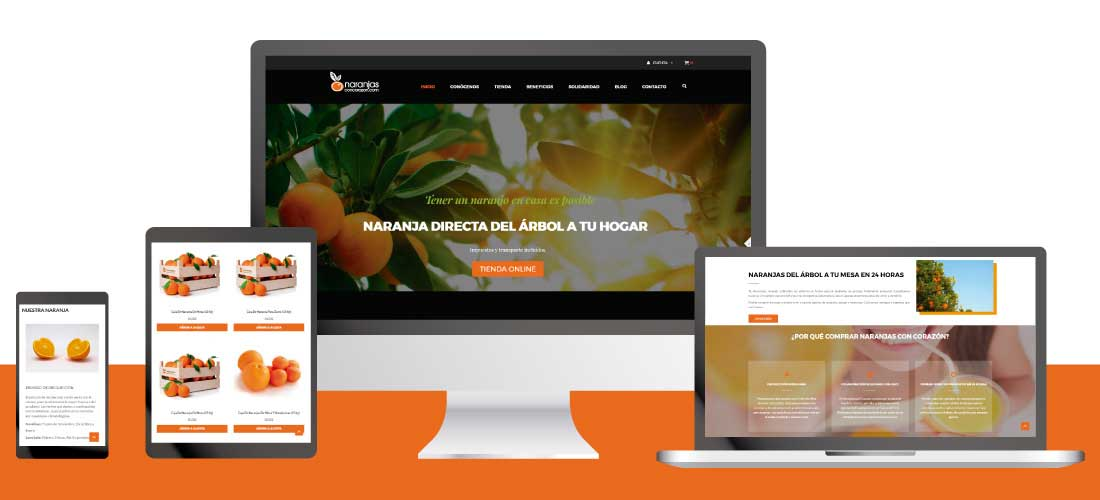 Naranjas con Corazón: Multitienda Prestashop