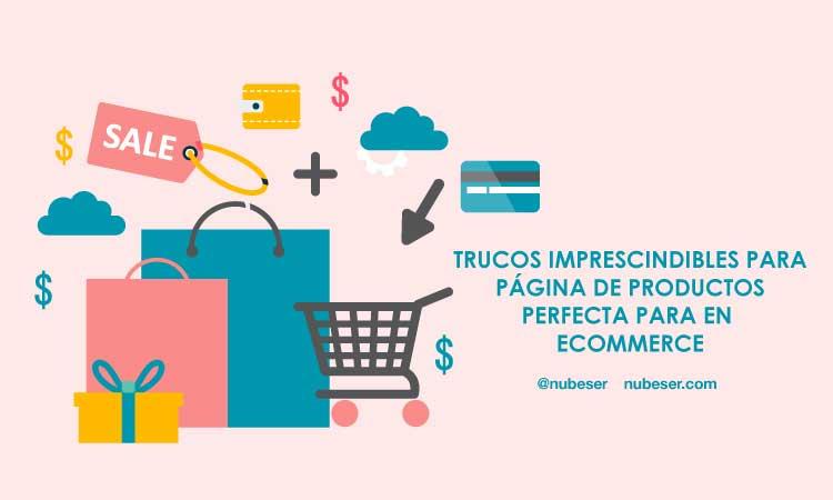 Diseño web para una página de producto perfecta en ecommerce o tienda online para aumentar las ventas