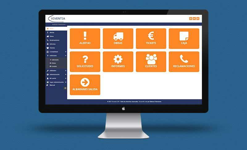 Viventia: Desarrollo Software de gestión para PYMES y App Móvil