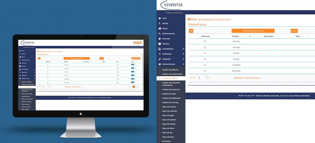 Viventia: Desarrollo Software de gestión para PYMES&&ciudad&& y Desarrollo Apps&&ciudad&&.