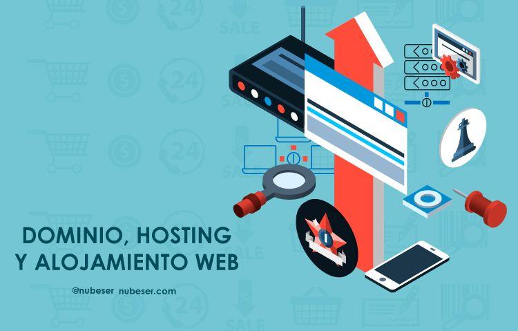 Dominio, hosting,alojamiento web