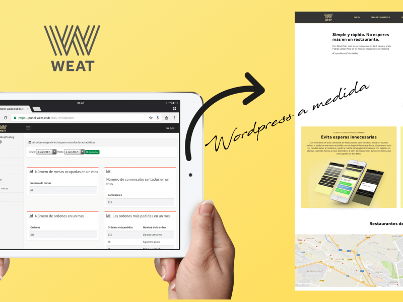 WEAT: Desarrollo Wordpress a medida
