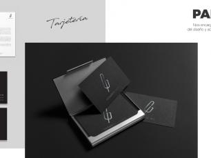 Gerardo Ibáñez: Diseño gráfico de identidad corporativa. Diseño logotipo e isotipo.