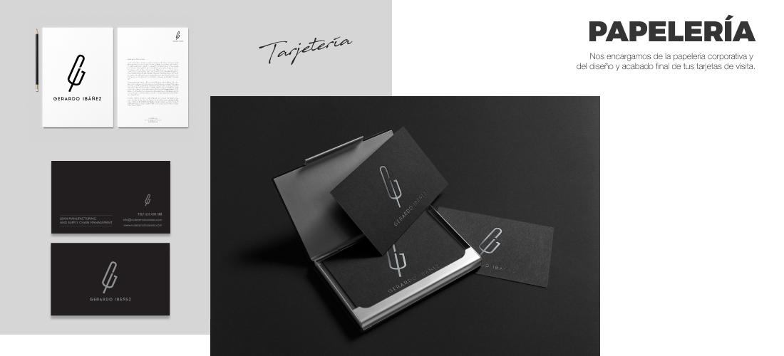 Gerardo Ibáñez: Diseño gráfico de identidad corporativa&&ciudad&&. Diseño logotipo&&en_ciudad&& e isotipo.