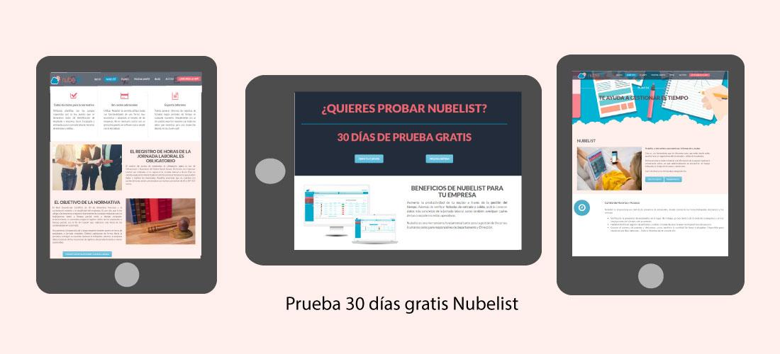 Diseño y desarrollo de páginas web&&en_ciudad&&: Nubelist.