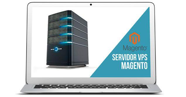 Servidor vps Magento. Servidores virtuales de alta velocidad.