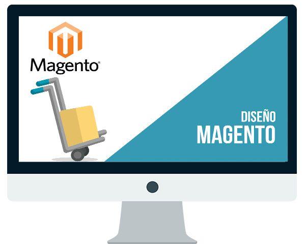 Diseño tienda online Magento: Desarrollo tienda online o ecommerce en Magento.
