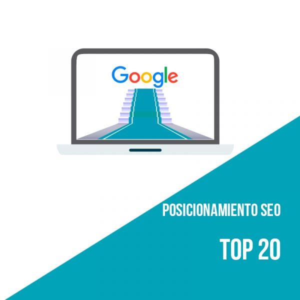 Plan posicionamiento SEO Top 20. Agencia SEO.