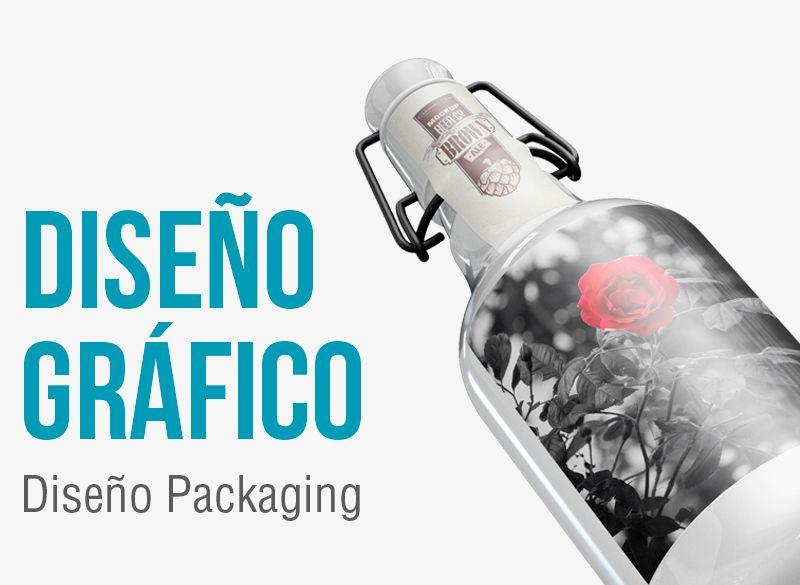 Diseño de packaging. Empresa diseño gráfico de packaging.