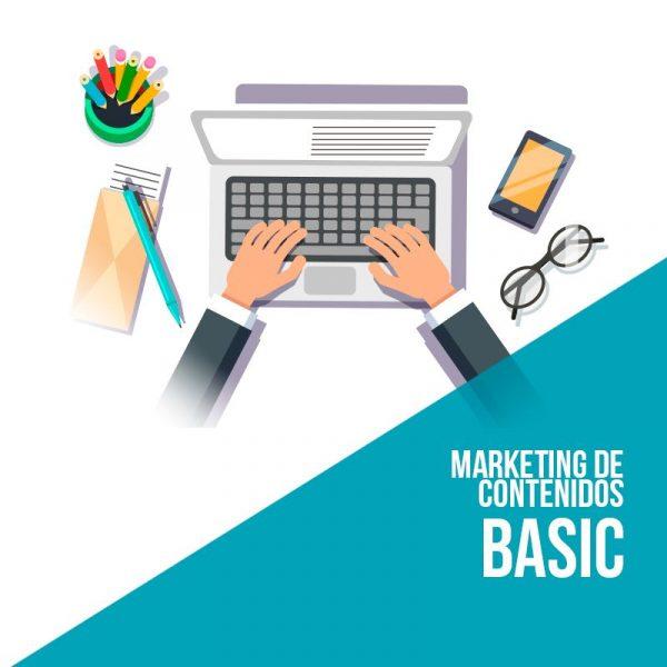 Plan marketing de contenidos Basic. Empersa marketing digital.