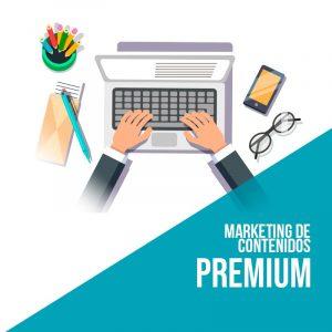 Plan marketing de contenidos Premium. Empresa marketing digital