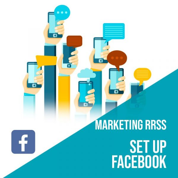 Plan Marketing Redes Sociales: Set Up Facebook. Plan de gestión Facebook para empresas. Gestión redes sociales.