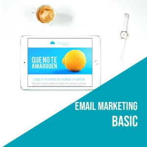 Plan Email Marketing Basic: Campañas de email marketing. Agencia marketing online.