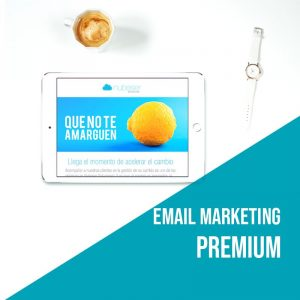 Plan Email Marketing Premium: Campañas de email marketing. Agencia marketing online.
