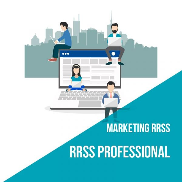 Plan marketing redes sociales professional. Agencia marketing online.