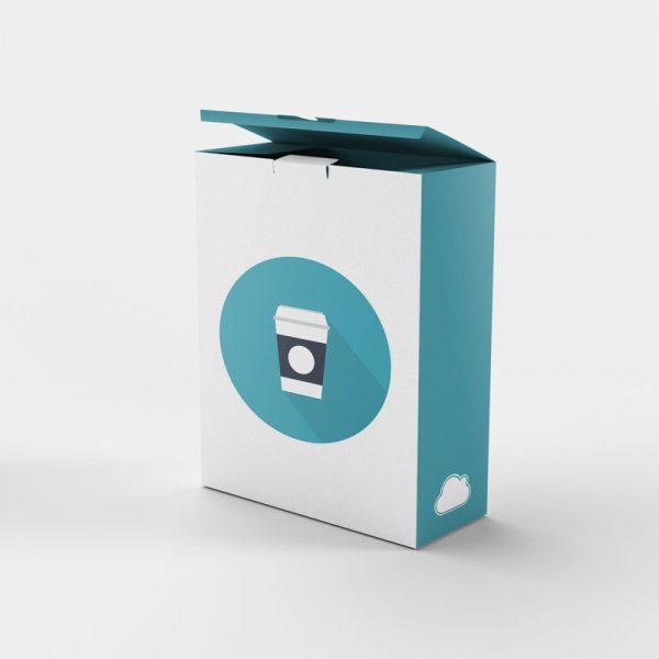 Diseño de packaging atractivo para formatos estándar