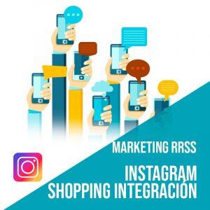 Plan Marketing Redes Sociales Madrid: Instagram Shopping Integración. Plataforma de compras integradas en la red social. ¿Qué es instagram shopping? Integramos tu tienda online con Instagram.