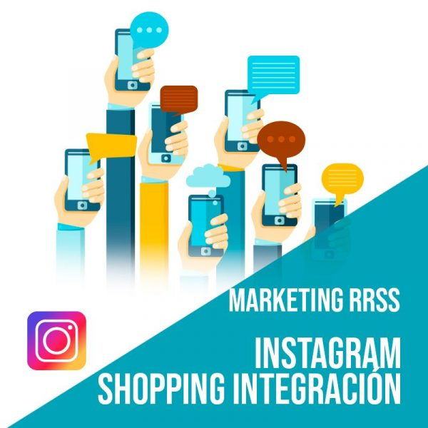 Plan Marketing Redes Sociales: Instagram Shopping Integración. Plataforma de compras integradas en la red social. ¿Qué es instagram shopping? Integramos tu tienda online con Instagram.