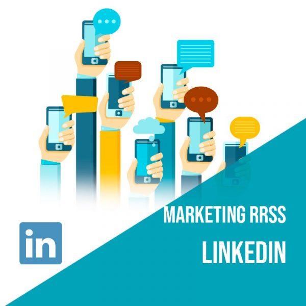 Plan Marketing Redes Sociales: Plan de gestión Linkedin para empresas mensual. Gestión redes sociales.