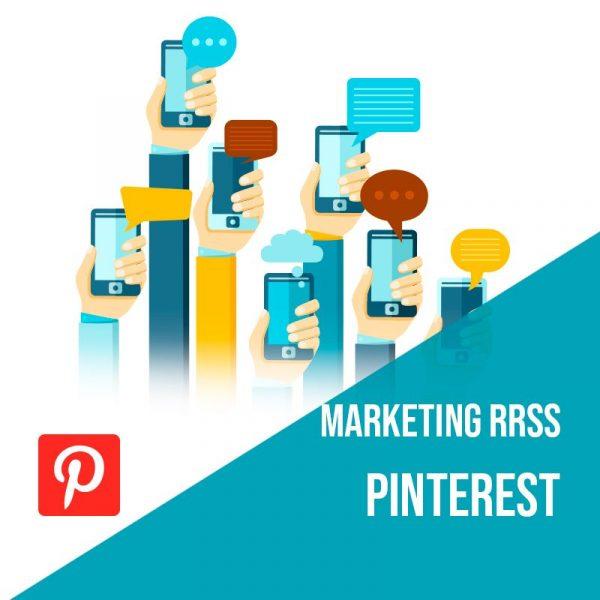 Plan Marketing Redes Sociales: Plan de gestión Pinterest para empresas mensual. Gestión redes sociales.