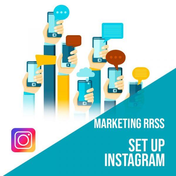 Plan Marketing Redes Sociales: Set Up Instagram. Plan de gestión Instagram para empresas. Gestión redes sociales.