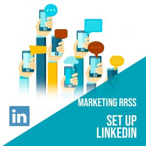 Plan Marketing Redes Sociales: Set Up Linkedin. Plan de gestión Linkedin para empresas. Gestión redes sociales.