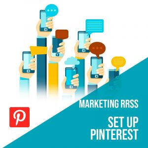 Plan Marketing Redes Sociales: Set Up Pinterest. Plan de gestión Pinterest para empresas. Gestión redes sociales.